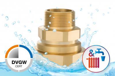 HUMMEL AG präsentiert Problemlöser für Trinkwassersysteme