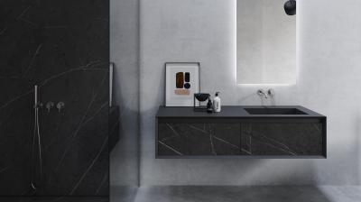 ONE – Waschtisch mit schwarzem Marmor by VALLONE®