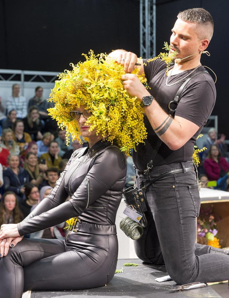 Star-Florist Timo Bolte