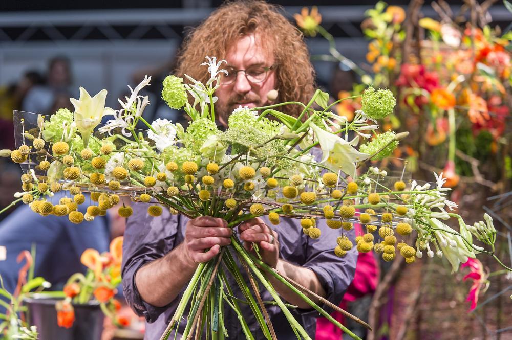 Star-Florist Roman Steinhauer