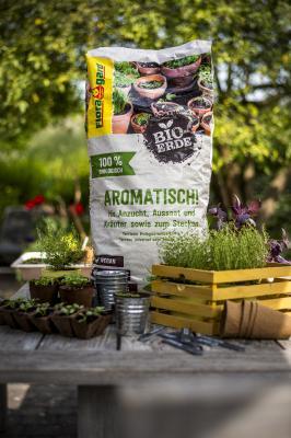 Floragard Bio-Erde Aromatisch!
