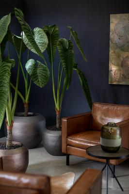 NEW LOFT planters with artificial plants