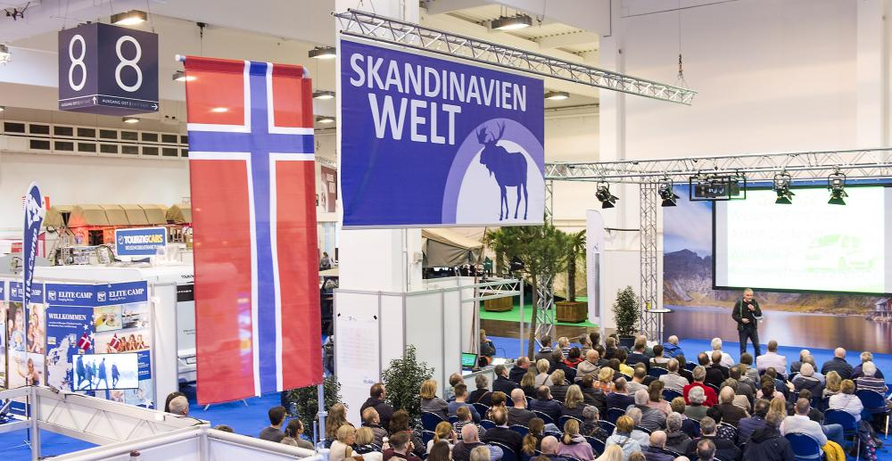 Skandinavien Welt in Halle 8.