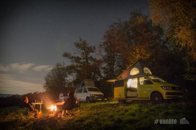 #vanlife auf der Resie und Camping 2020