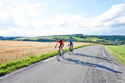 Rennrad im Sauerland
